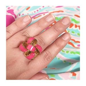 Lilly Pulitzer Pink Bow Ring